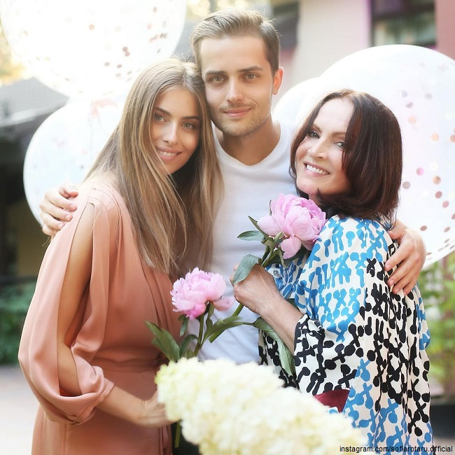 Beautiful granddaughter Sofia Rotaru shared a photo with a new lover from the Forbes list
