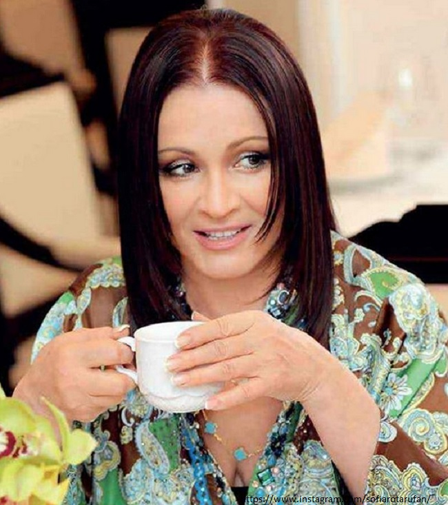Sofia Rotaru spoke about her granddaughter's marriage