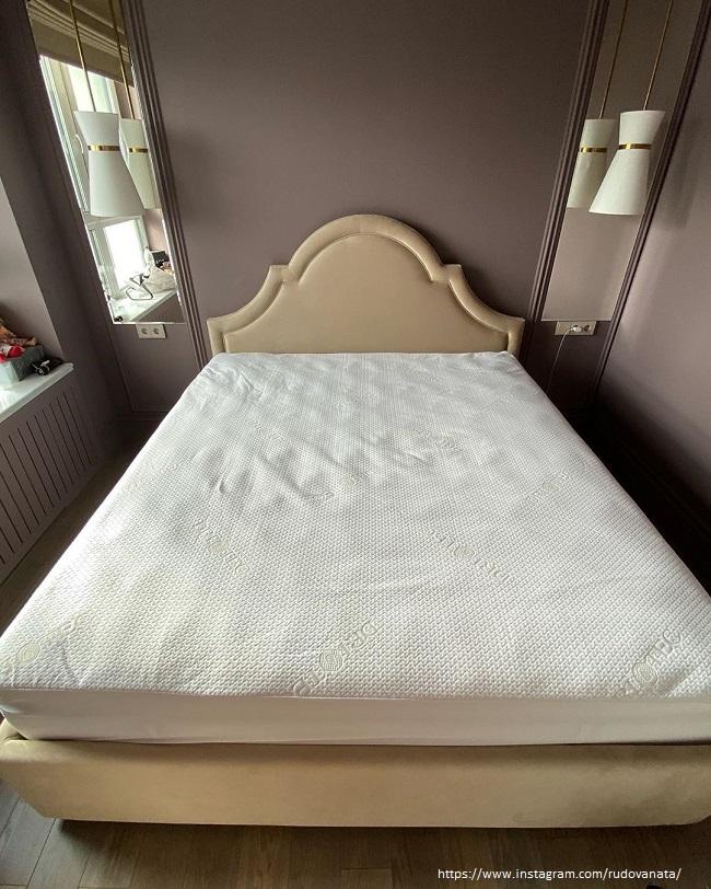 Спальня Натальи Рудовой