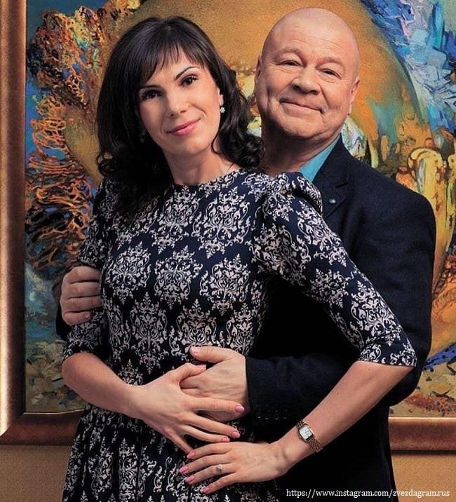 Сергей Селин с женой