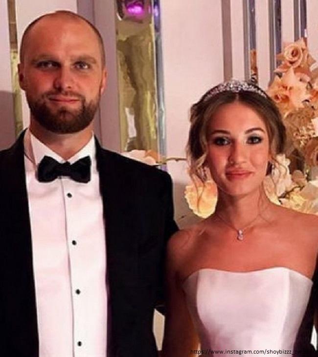 Дочь Александра Серова Мишель со своим мужем