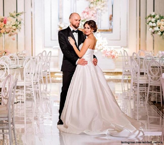 Мишель Серова с мужем Романом