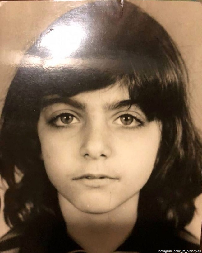 Маргарита Симоньян в детстве