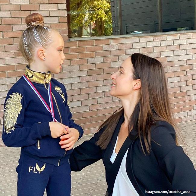 Анна Снаткина с дочерью Вероникой