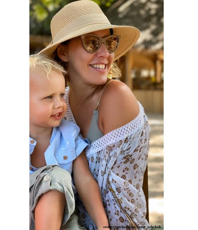 подробно фотографии ксении собчак с ее сыном сербы верили