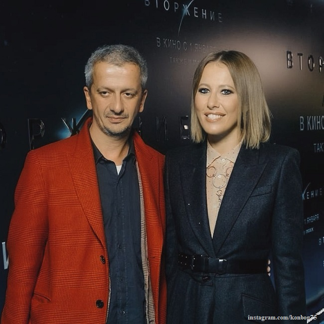Ksenia Sobchak is horrified that her husband kissed another woman