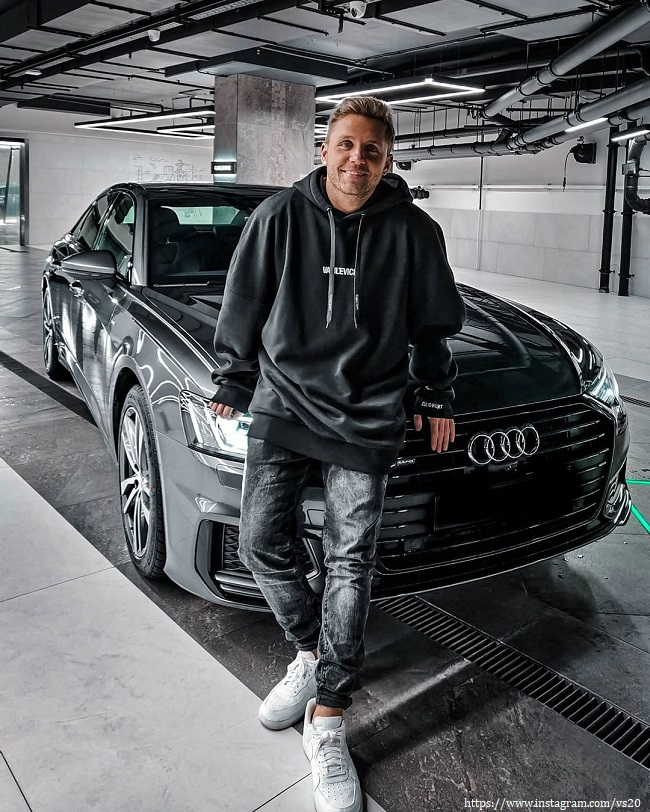 Vlad Sokolovsky showed his new car