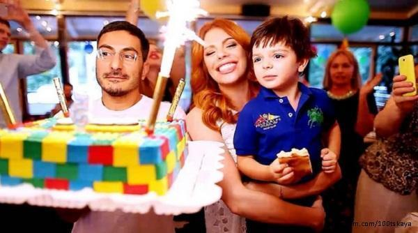 Анастасия Стоцкая с мужем и сыном