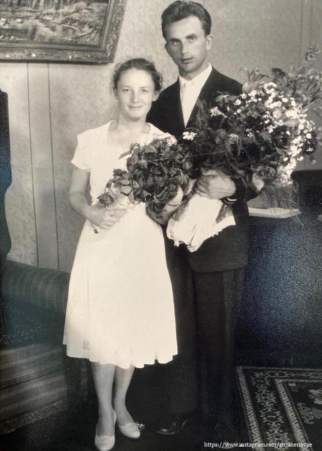Мама Екатерины Стриженвой с мужем