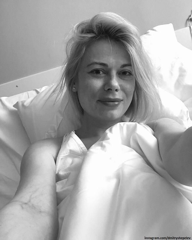 Екатерина Тулупова в роддоме