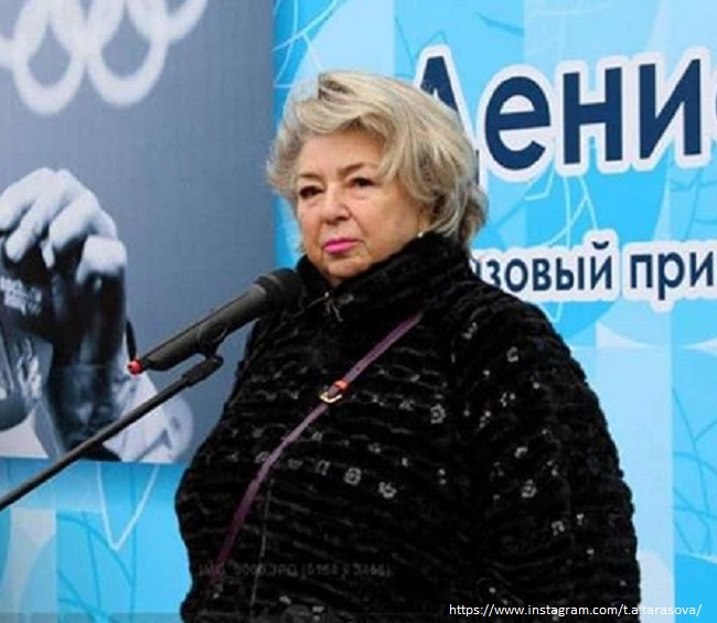 Tatiana Tarasova made a bedroom on the first floor due to health problems
