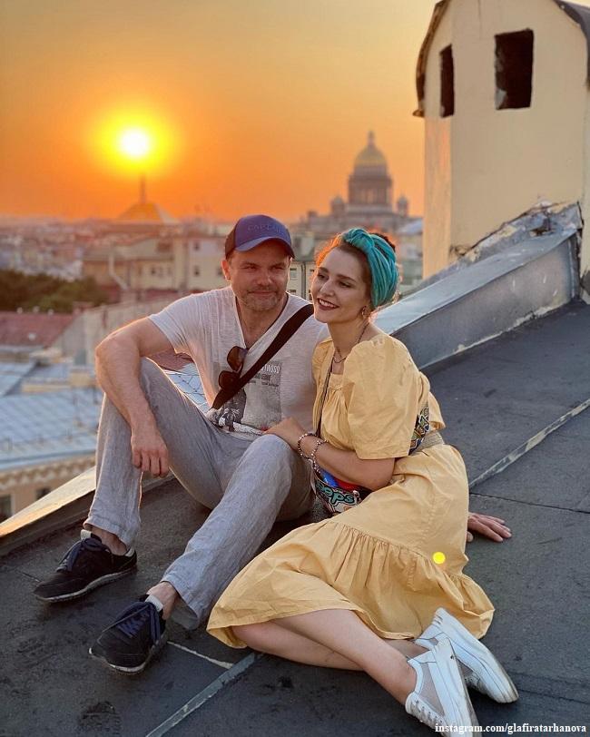 Глафира Тарханова и Алексей Фаддеев