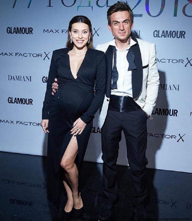Регина Тодоренко с мужем