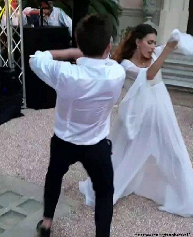 Свадебный танец Регины Тодоренко и Влада Топалова