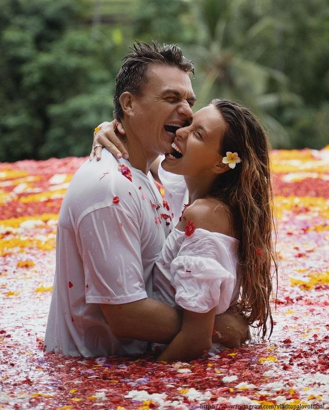 Влад Топалов с женой