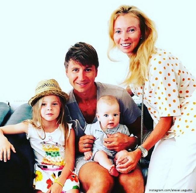 Tatyana Totmianina with her family