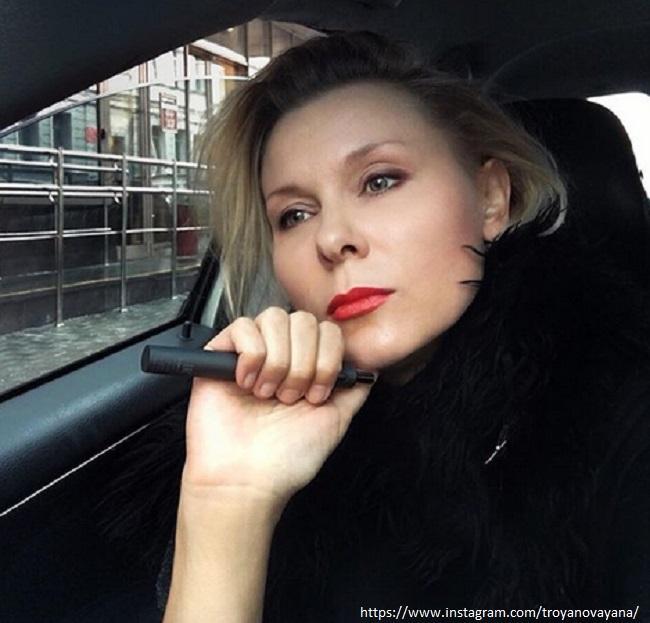 Yana Toroyanova admitted that thanks to her husband she began to earn more than him