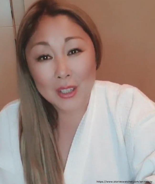 Anita Tsoi lost incredible weight after COVID 19