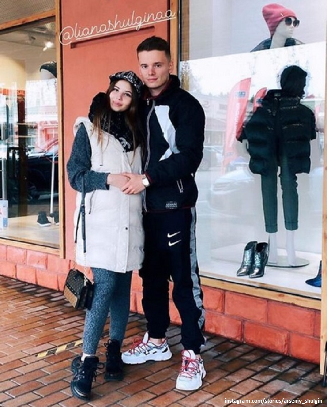 Arseny Shulgin with his wife Liana
