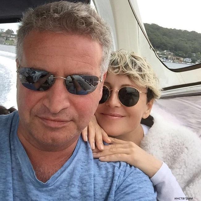 Анжелика Варум с мужем