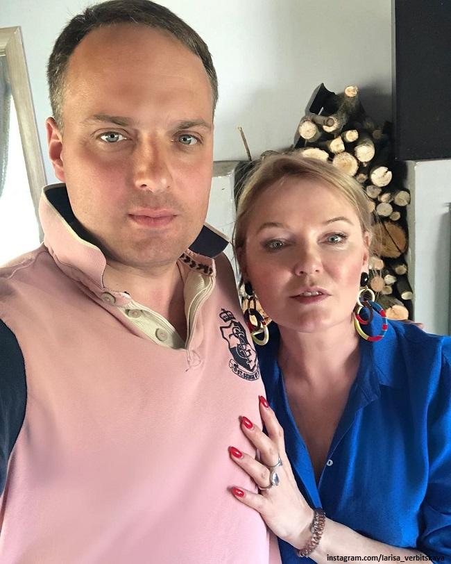Лариса Вербицкая с сыном Максимом