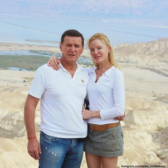 Лариса Вербицкая с мужем Александром Дудовым