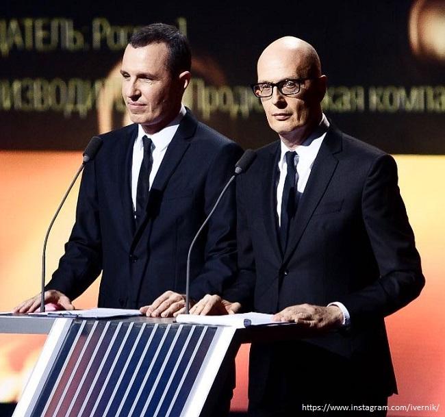 Игорь Верник с братом