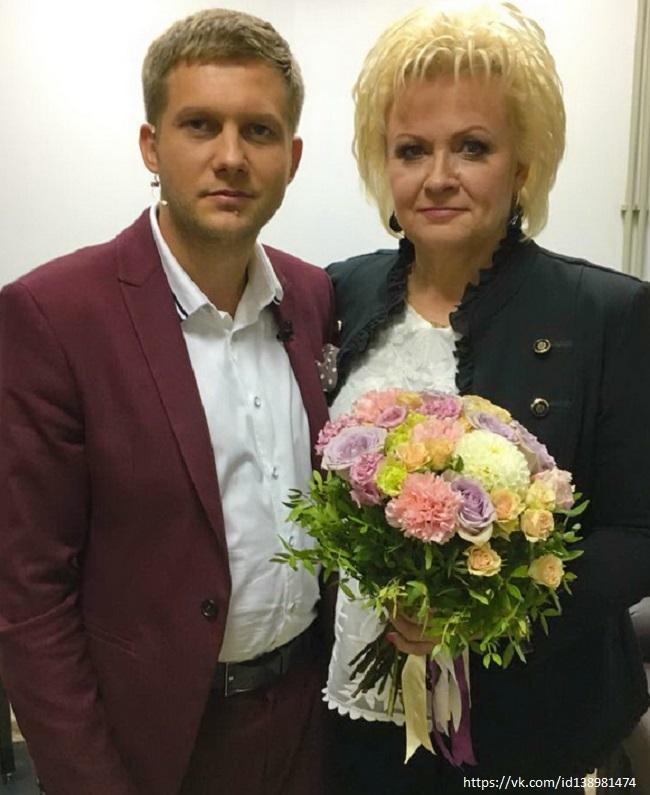 Анне Вески и Борис Корчевников