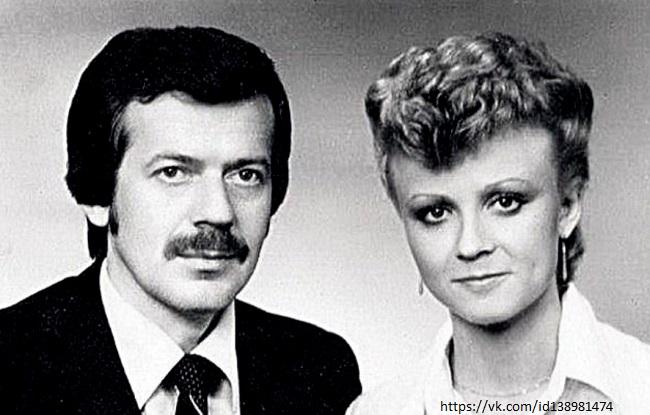 Анне Вески со своим мужем Бенно