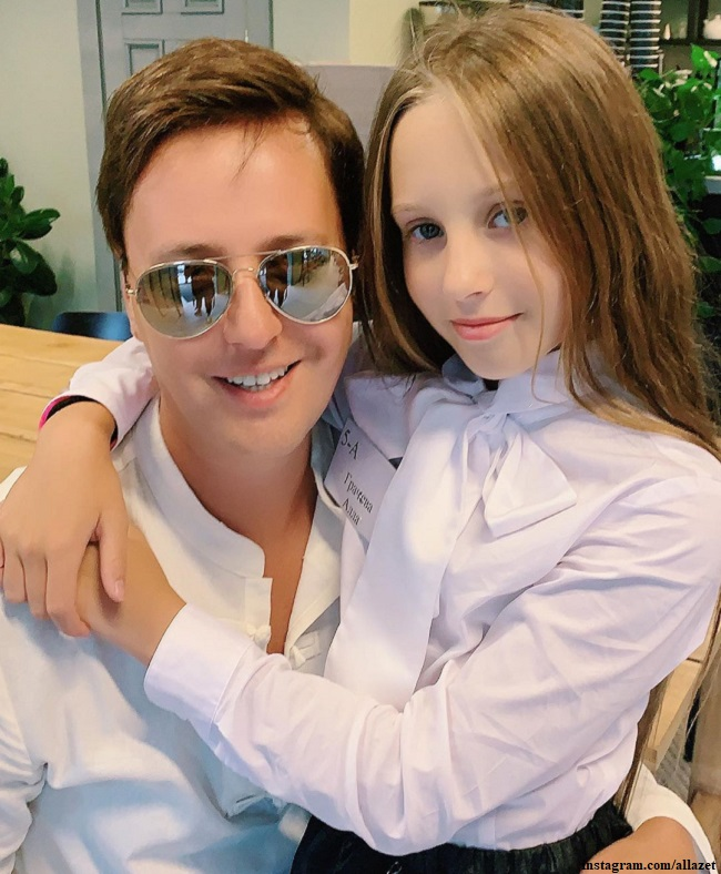 Витас с дочерью Аллой