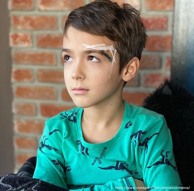 Son of Alena Vodonaeva