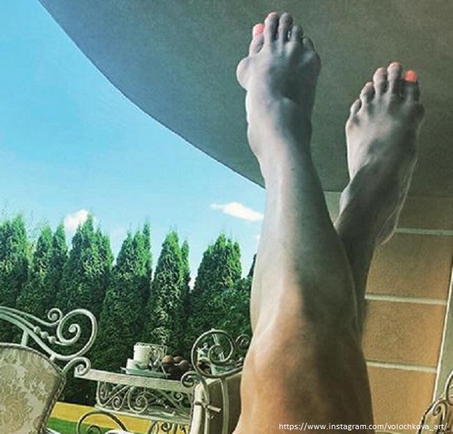 Анастасия Волочкова шокировала своими ногами