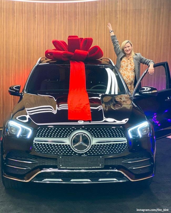 Татьяна Волосожар с новым авто