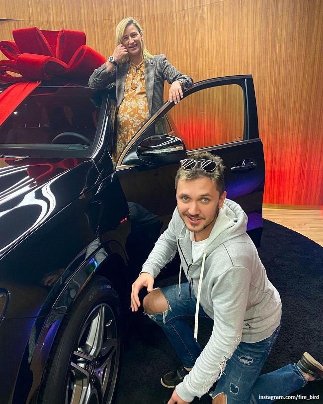 Татьяна Волосожар и Максим Траньков с новым авто