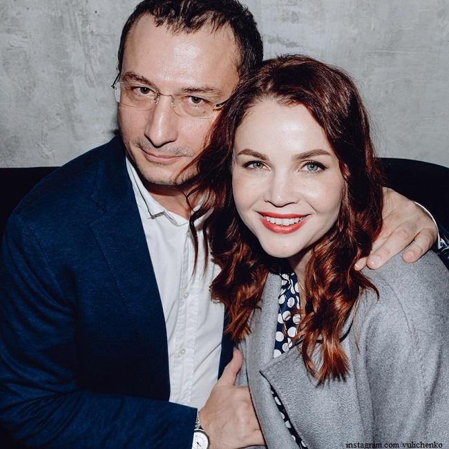 Екатерина Вуличенко с мужем Маратом Гуданаевым