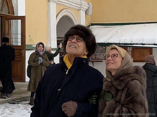 Юлия Высоцкая высказалась по поводу венчания с Андреем Кончаловским