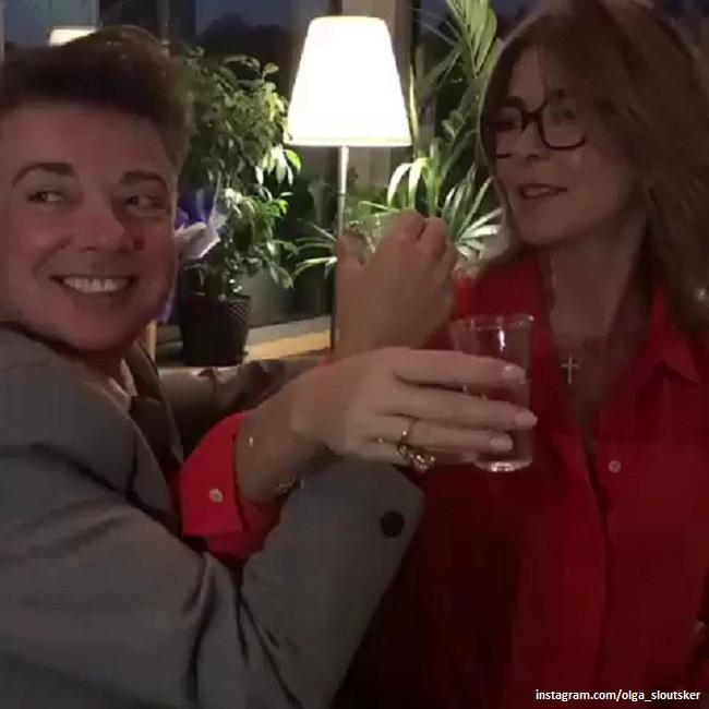 Валентин Юдашкин и Ольга Слуцкер
