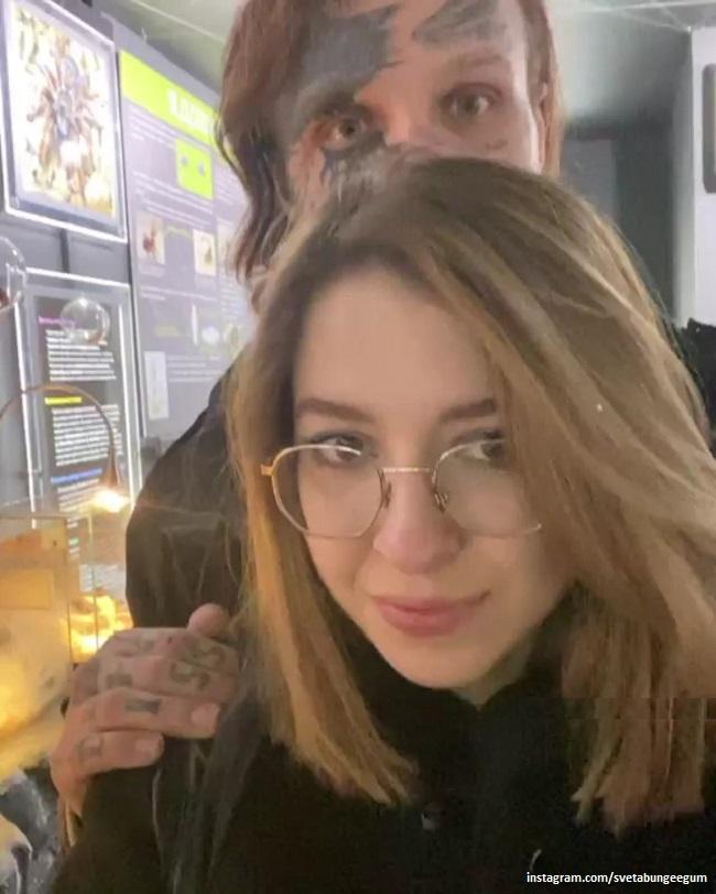 Денис Шальных с новой избранницей Светланой