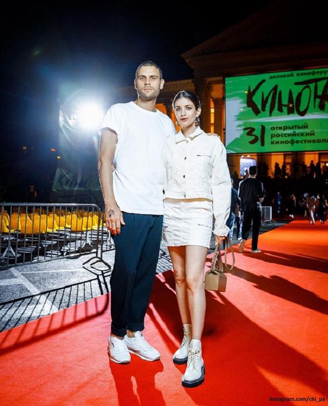 Anna Chipovskaya and Dmitry Endaltsev at