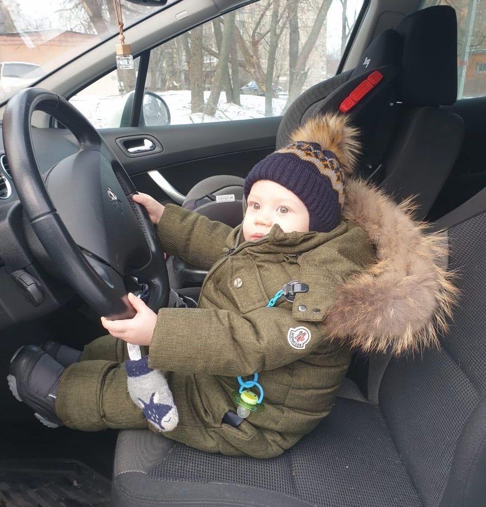Сын Игоря Жижикина