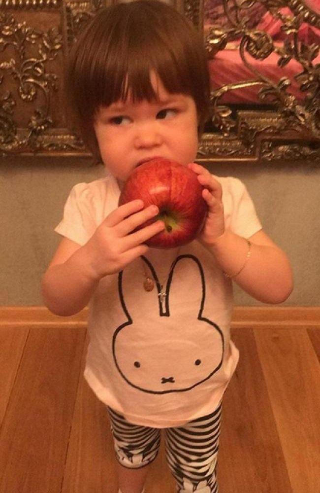 Белла дочь Гелы Месхи и Екатерины Климовой