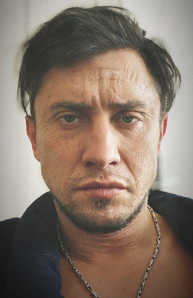 Павел Прилучный напугал своим видом