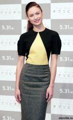 Подробнее: Ольга Куриленко и Круз на премьере «Обливион» в Токио