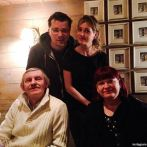 Кристина Асмус с родителями