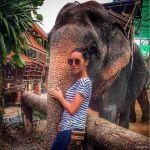 Подробнее: Алсу на отдыхе с детьми катается верхом на слоне