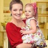 Екатерина Вилкова с дочкой