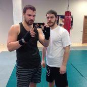 Алексей Чадов показал кадр со своей тренировки