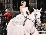 Подробнее: Мария Голубкина опять в свадебном платье, но уже верхом на лошади