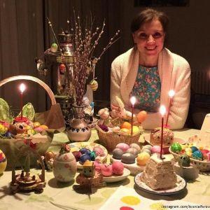 Подробнее: Ксения Алферова рассказала, как готовилась к Пасхе