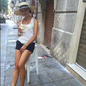 Подробнее: Ксения Алферова забывает про диету в Италии